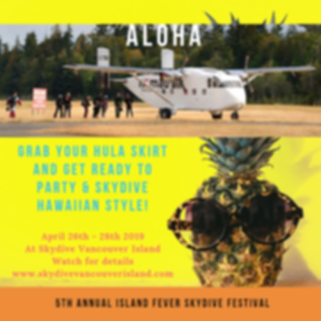 5th Annual Island Fever Skydive Festival 2019