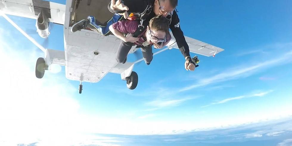 Nirav Invites You to Go For A Skydive