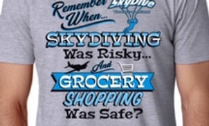 Skydiving and Grocery Shopping