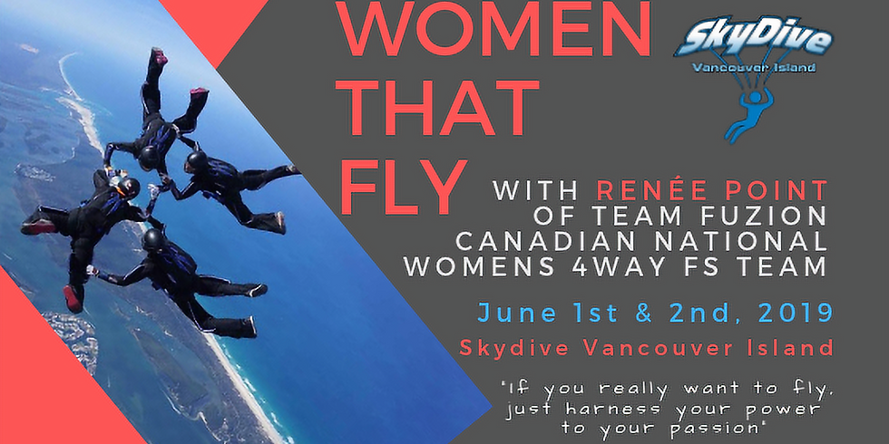 Women That Fly FS Camp with Renèe Point