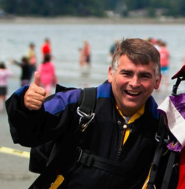 Gord Gauvin Skydive Vancouver Island Owner