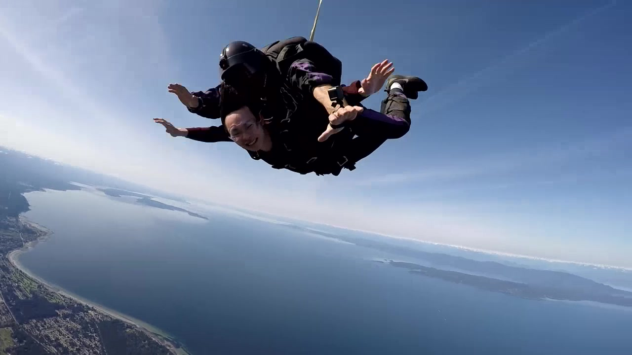Skydive Vancouver Island Freefall
