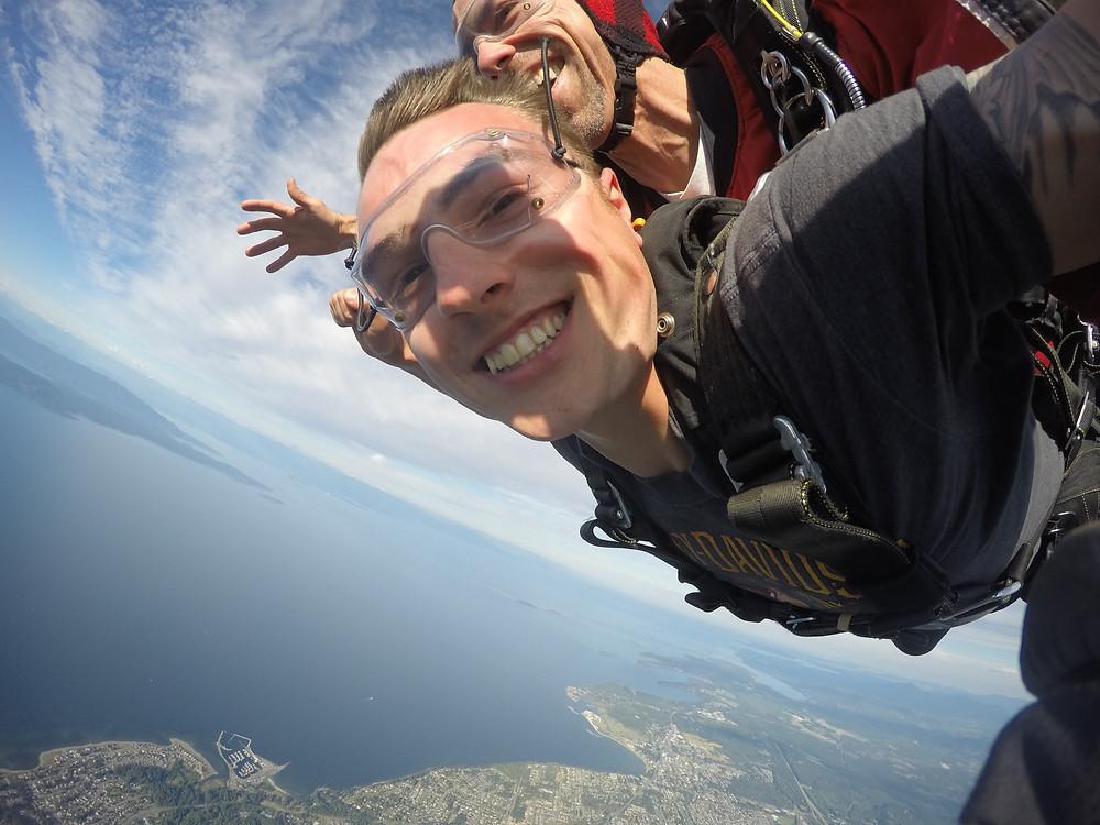 Tandem Skydive | Skydive Vancouver Island