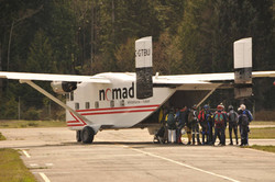 Big Planes for Skydiving in BC