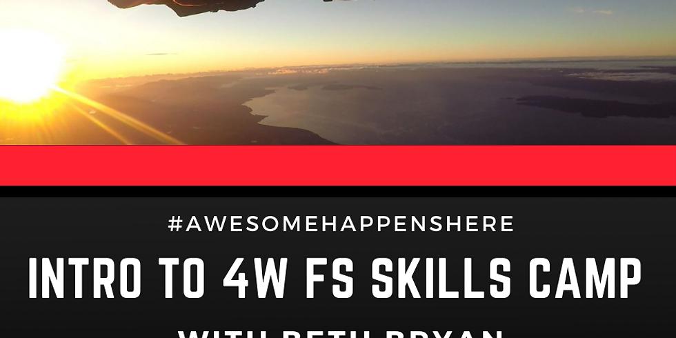 Intro to 4W FS Skills Camp with Beth Bryan