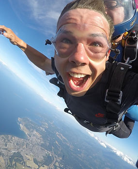 Tandem Skydive on Vancouver Island