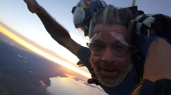 Sunsets and Skydiving