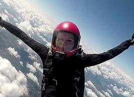 Videographer at Skydive Vancouver Island