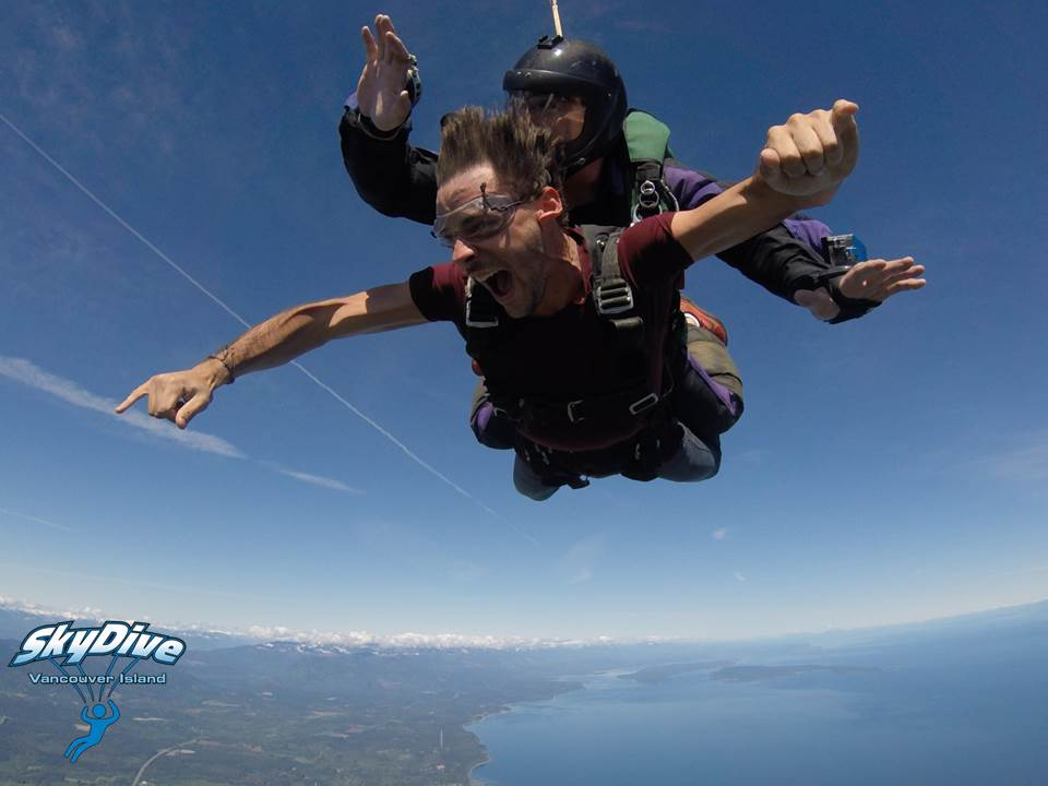 Highest Skydive on Vancouver Island