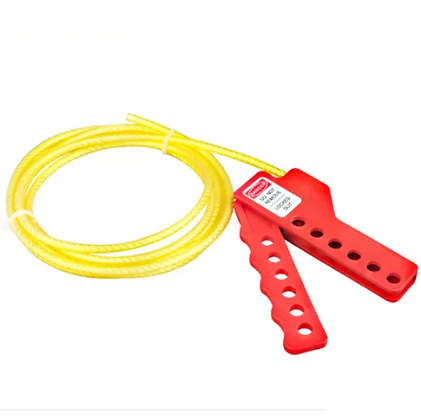 Plastic and Metal Simple Cable Lockout