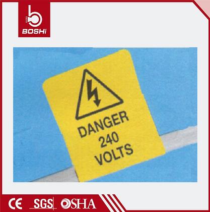 Üzeri Yazılabilir Kablo İşaretleme Etiketleri
