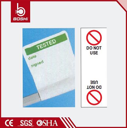 Elektrik Kablo İşaretleme Etiketleri