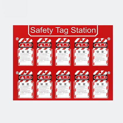 Güvenlik Etiketi İstasyonu