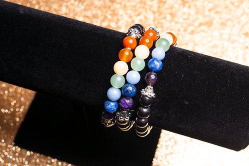 Hematite Chakra Bracelets