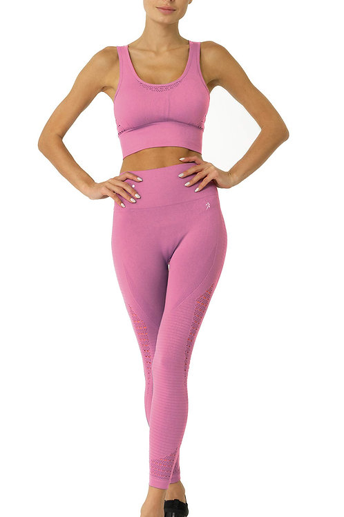 Mesh Seamless Set - Pink