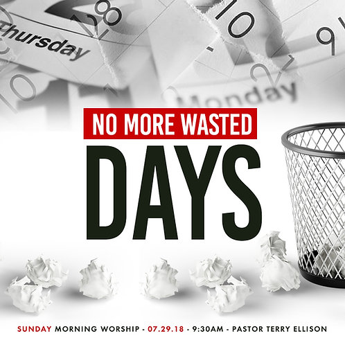 """No More Wasted Days"""