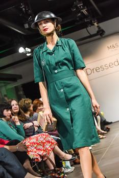 M&S Fashion show