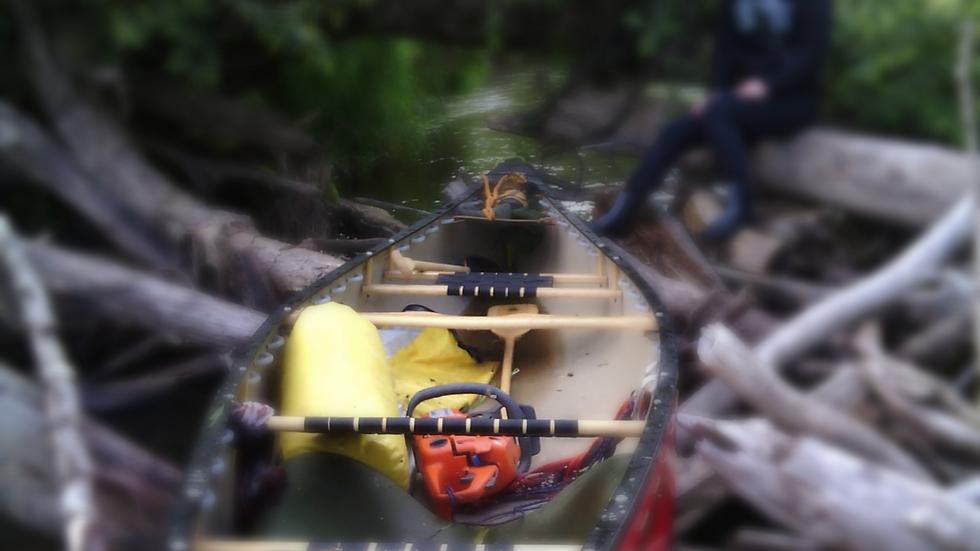 Silverbirch kanuu kolmas iste