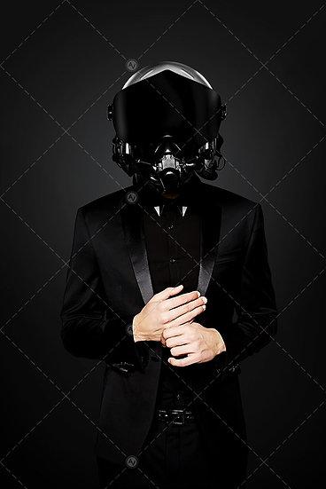 Pilot Man With Suit