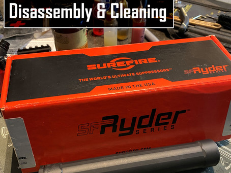 Surefire Ryder 9Ti Cleaning