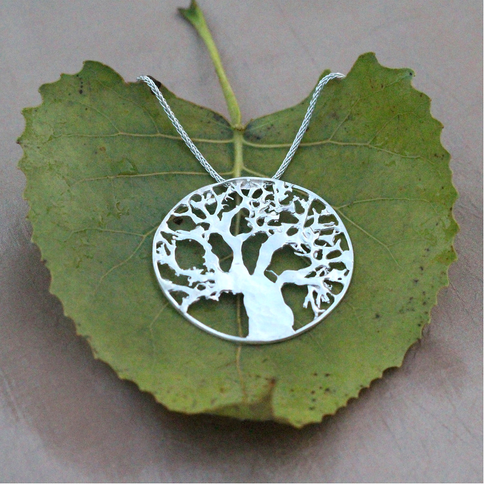 Tree of Life designed and produced Natural Adornment by Elena McCabe