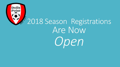 2018 Registrations are now open