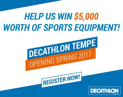 Decathlon Is Coming!!