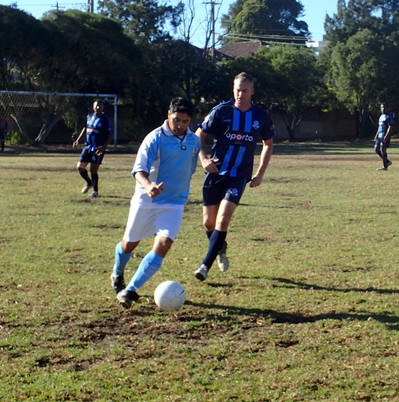 Game 8: Vs Hurstville Glory - Loss 1 - 3