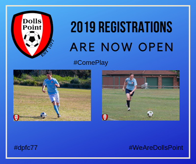 2019 Season Registrations are now Open