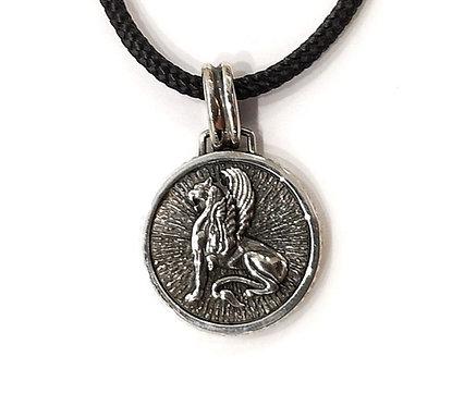 Griffin pendant
