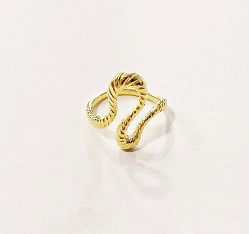 Gold Serpent Body Ring