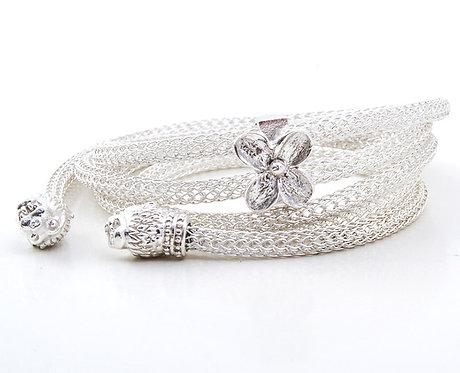 Y Silver Necklace