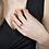 Thumbnail: Circle Gold Diamond Woman's Ring