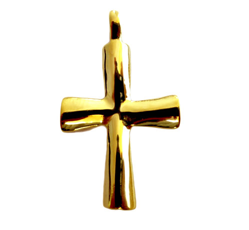 18k Gold Cross