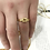 Thumbnail: Infinity Knot Gold Ring
