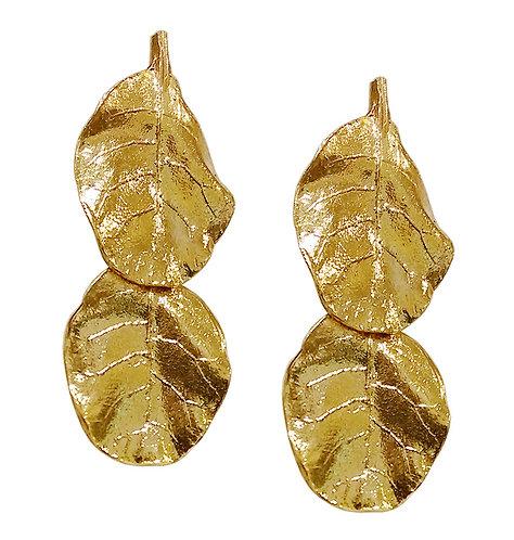Natural leave Earrings
