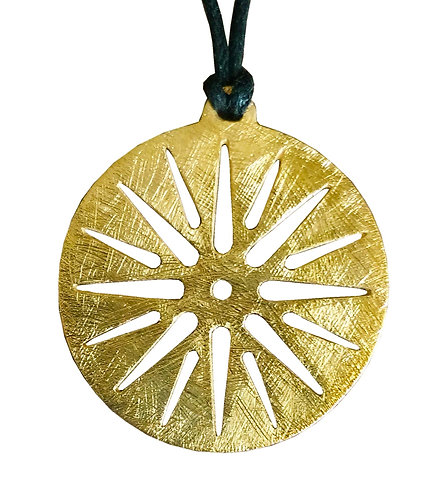 Sun of Vergina Pendant