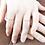 Thumbnail: Dainty Solitaire Diamond Ring