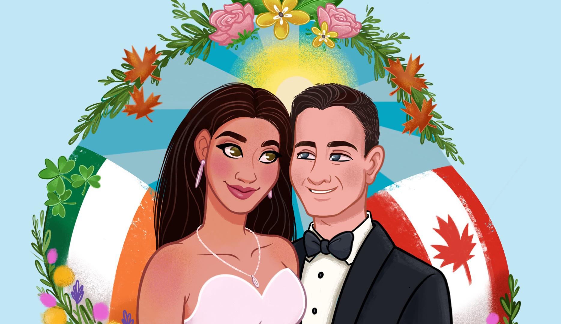 First Wedding Anniversary