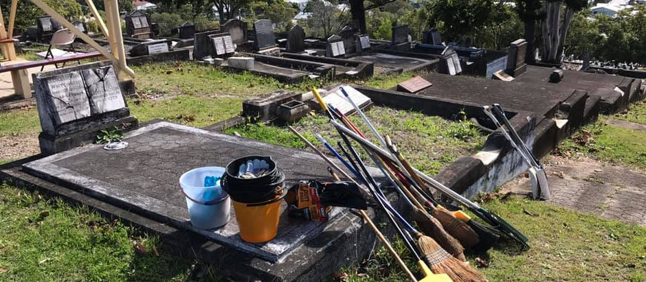 Balmoral Cemetery Clean-up Sunday 11 Oct 10am