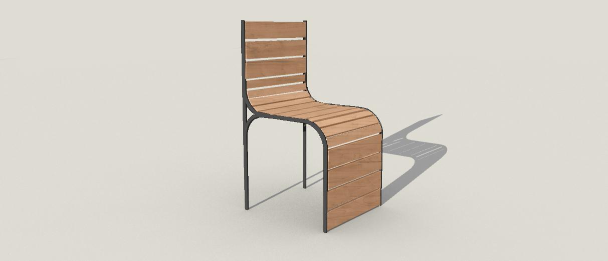 Outdoor chair concept