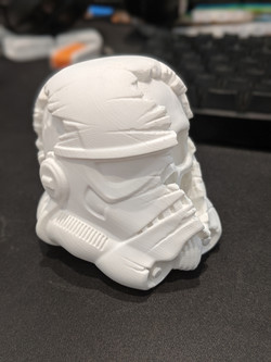 Star Wars Storm Trooper helmet