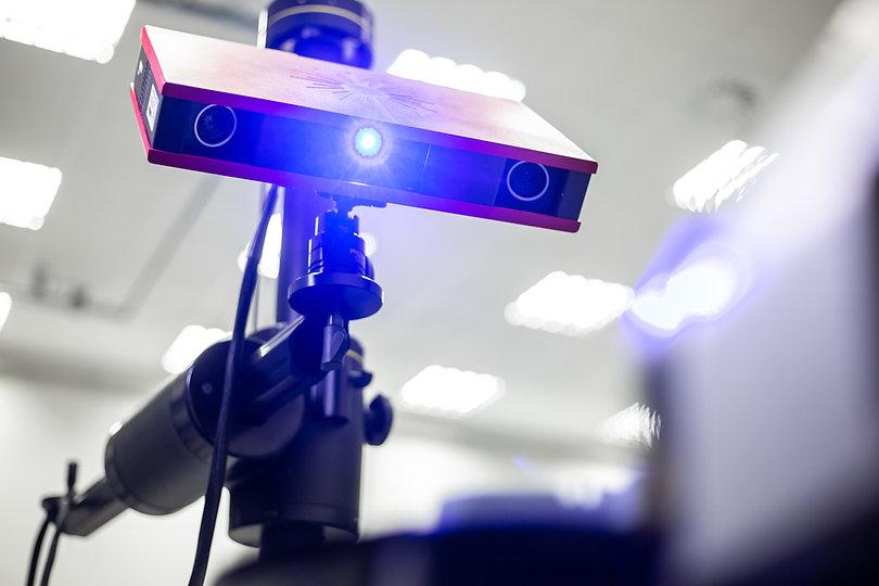 3D scanner scanning