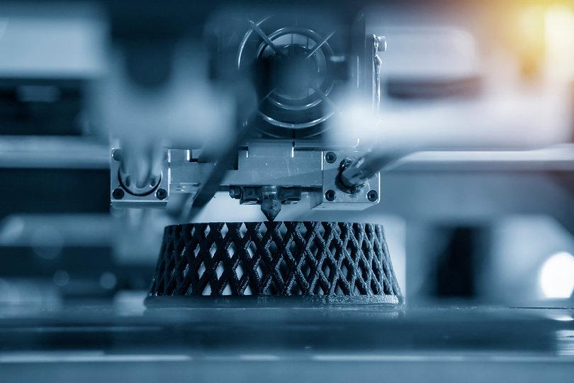 3D printing a latticed prototype