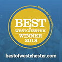 Best of Westchester winner seal, Caterer 2018