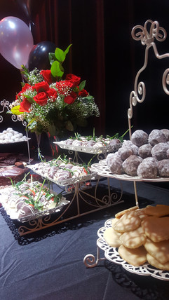 Valentine-themed dessert