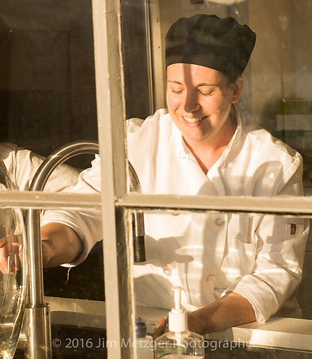 Chef Renée loving her job