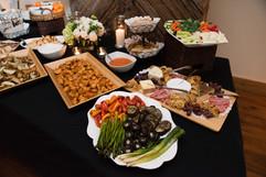 Gala fundraiser starters buffet