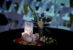 Gala fundraiser VIP table