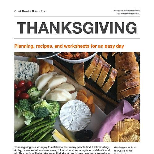 Thanksgiving Recipes & Planning